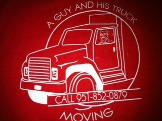 A Guy & His Truck Moving