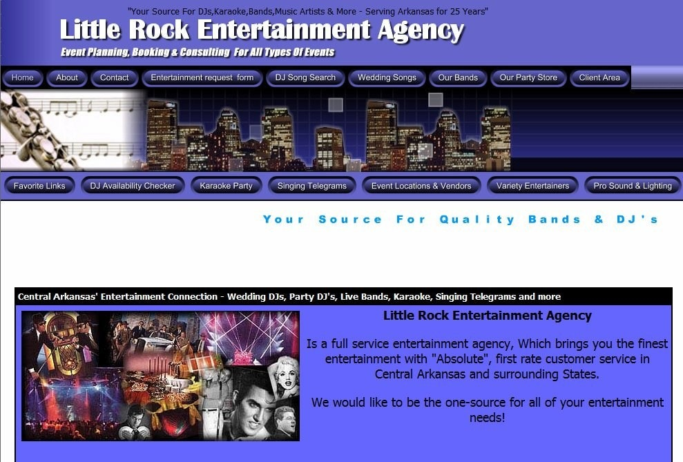 Little Rock Entertainment Agency