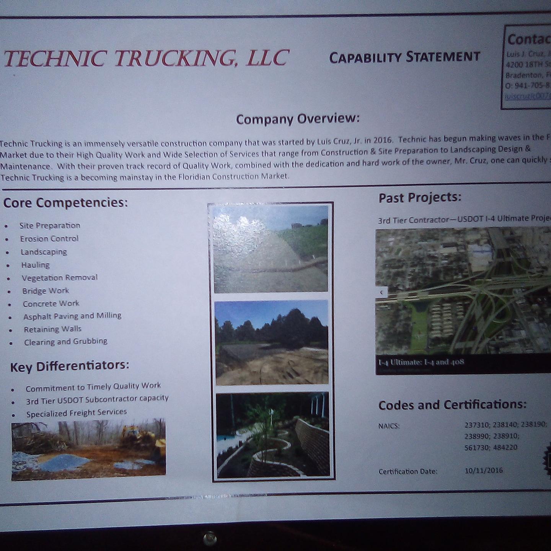 Technic Trucking