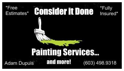 Consider it Done Painting Services...and more!