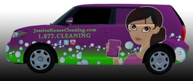 JESSIE'S HOUSE & CARPET CLEANING 1.877.CLEANING