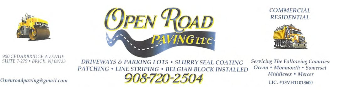 Open Road Paving LLC.
