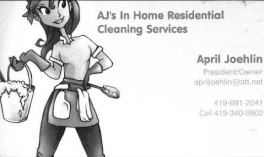 AJ's In Home Cleaning