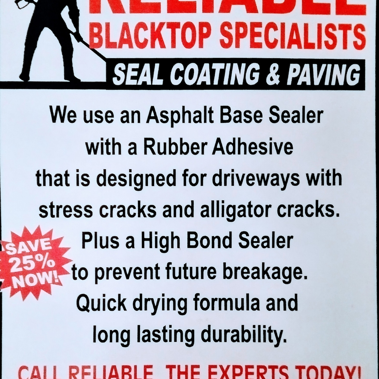Reliable Black Top Specialist