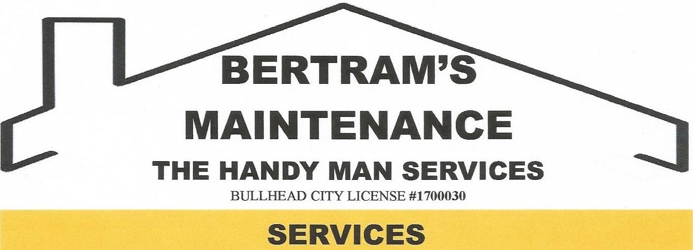 bertram's maintenance The Handyman