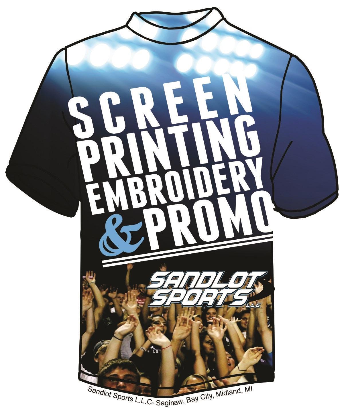 Sandlot Sports- Tee Shirt Printing and Embroidery