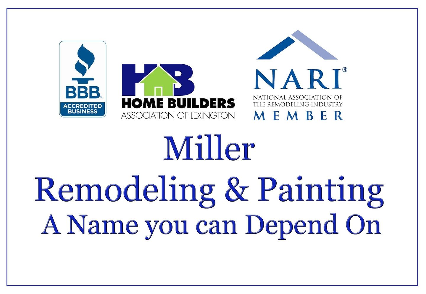Miller Remodeling & Painting