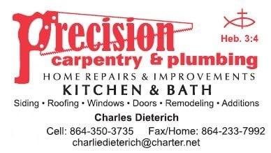 PRECISION CARPENTRY & PLUMBING LLC