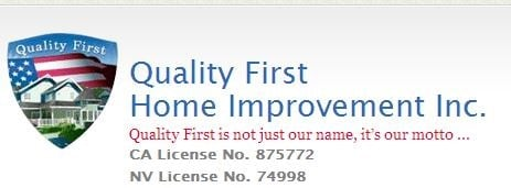 Quality First Home Improvement Inc.