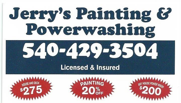 Jerrys Painting & Powerwashing