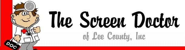 The Screen Doctor of Lee County Inc logo