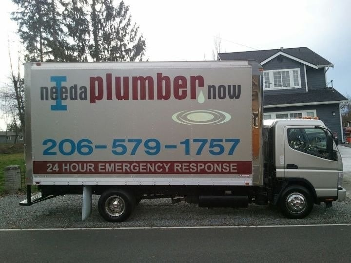 I Need A Plumber Now logo