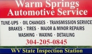 Warm Springs Automotive Services