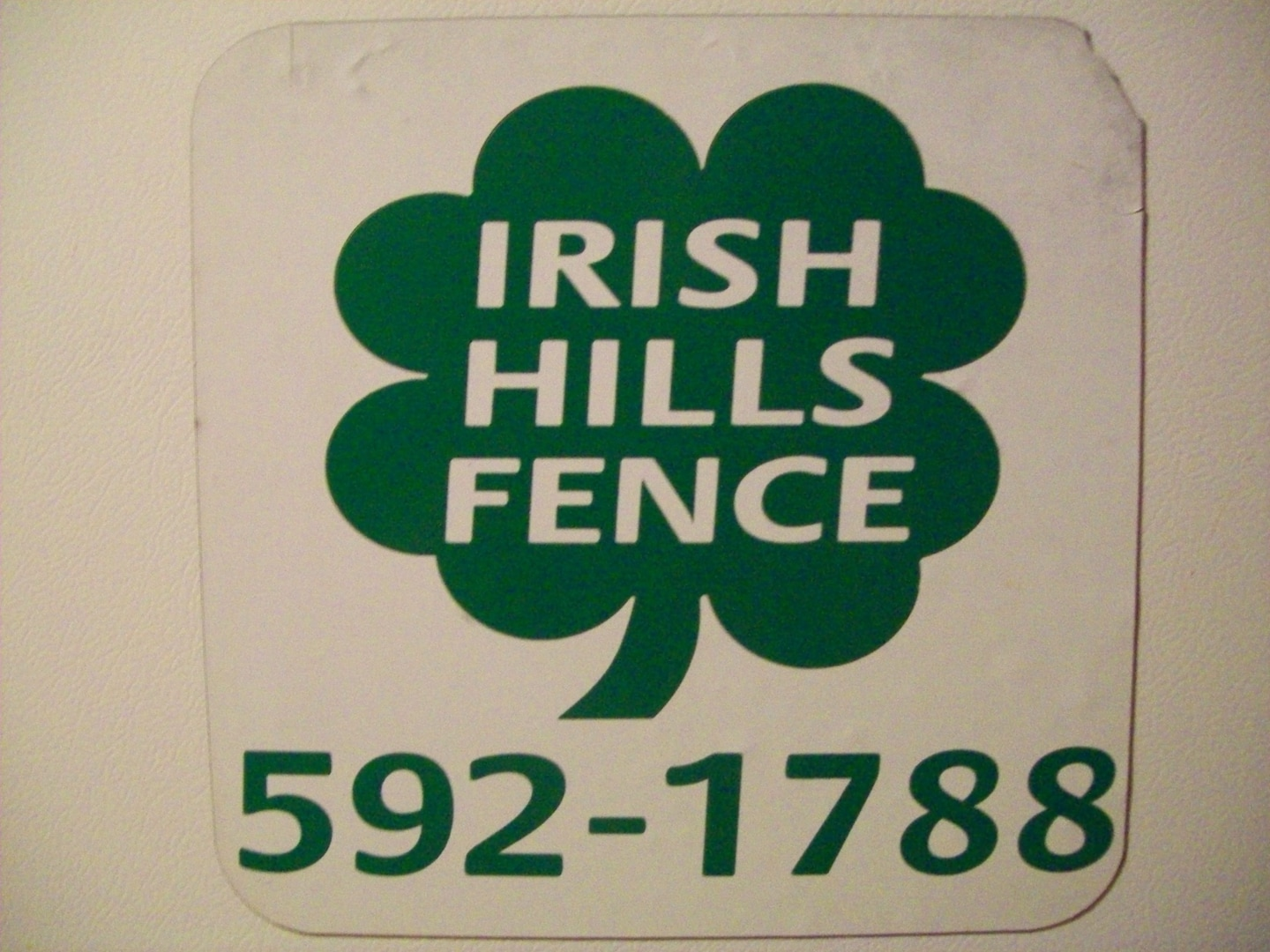 Irish Hills Fence