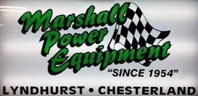 MARSHALL POWER EQUIPMENT