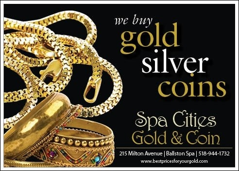 Spa Cities Gold and Coin