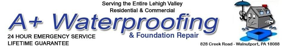 A+ Waterproofing & Foundation Repair LLC logo