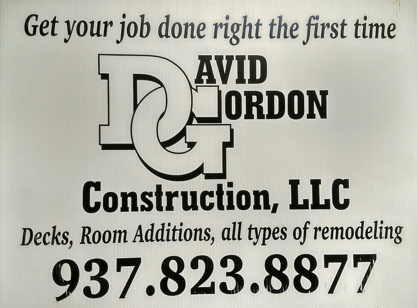 David Gordon Construction LLC