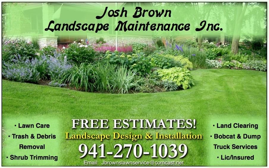 Josh Brown Landscape Maintenance Inc