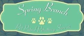 Spring Branch Pet Patrol Pet Sitting Service logo