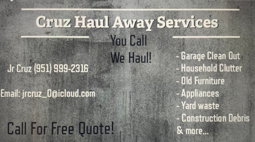 Cruz Haul Away Services