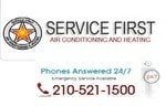 Service First Air Conditioning And Plumbing