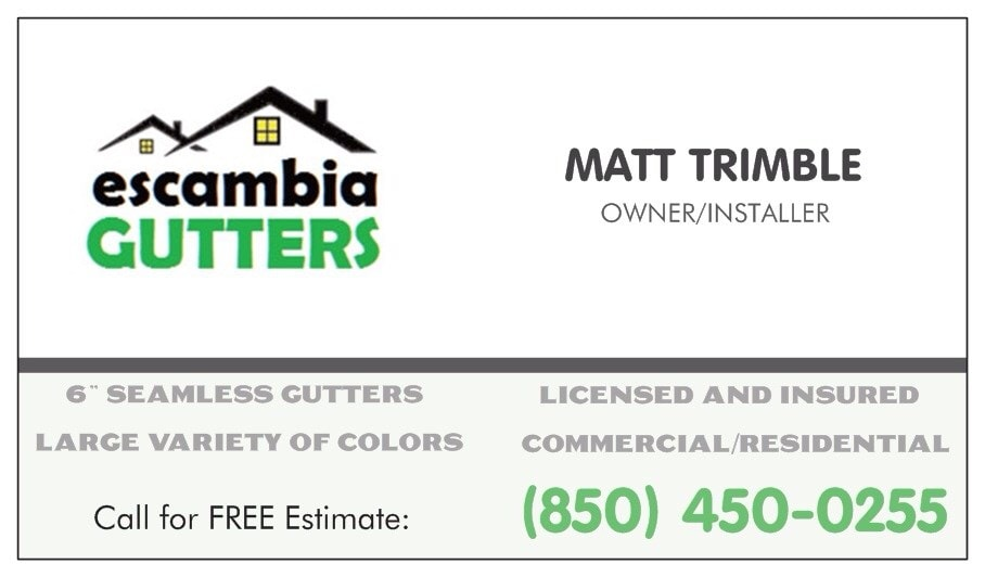 Escambia Gutters Inc