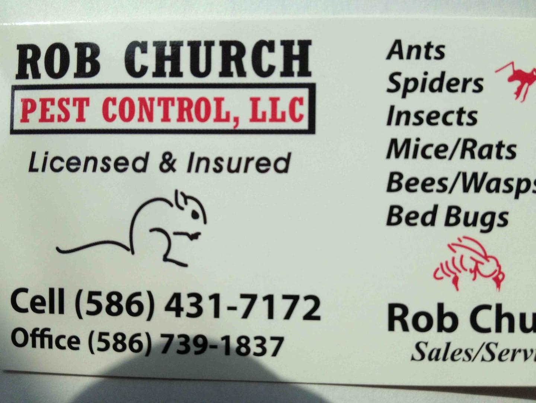 Rob Church Pest Control LLC