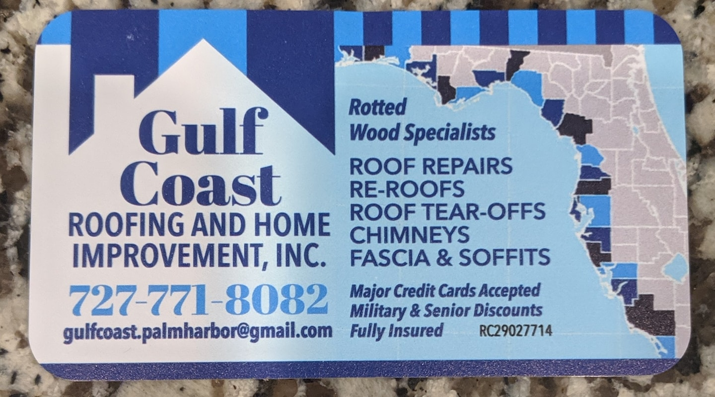 Gulf Coast Roofing And Home Improvement Reviews Palm Harbor Fl Angie S List