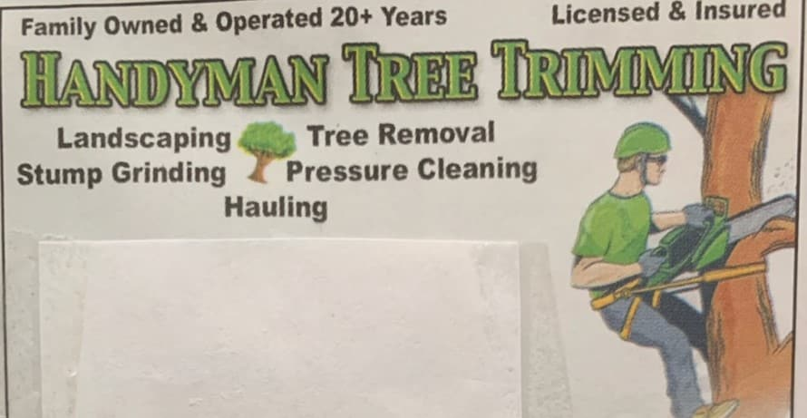 Handy Man Tree Service