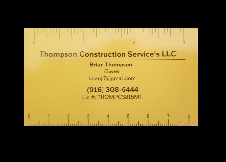 Thompson Construction Service's LLC
