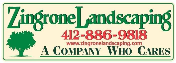 Zingrone Landscaping logo