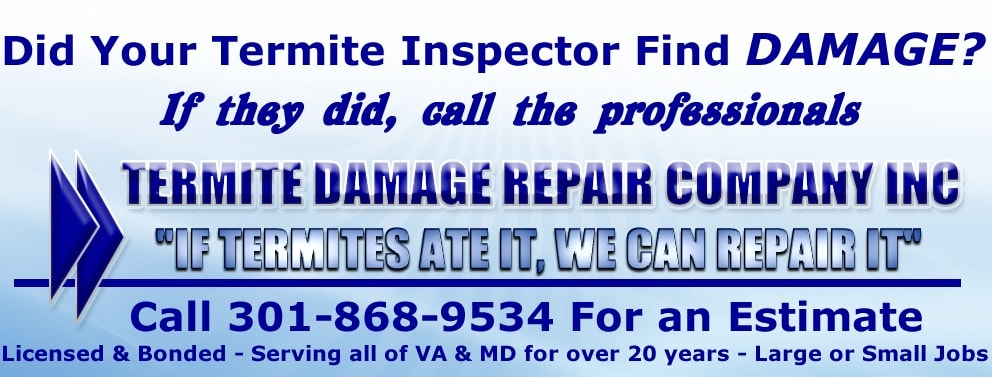 TERMITE DAMAGE REPAIR CO