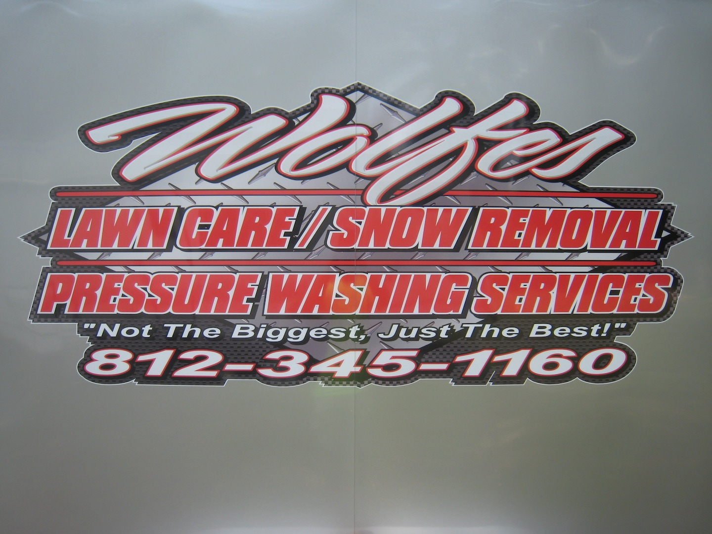 Wolfes Lawn Care-Snow Removal-Pressure washing