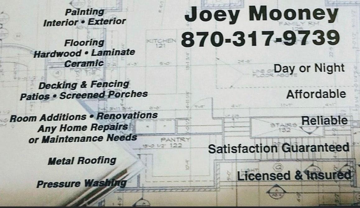 Joey Mooney Services