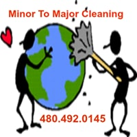 Minor To Major Cleaning