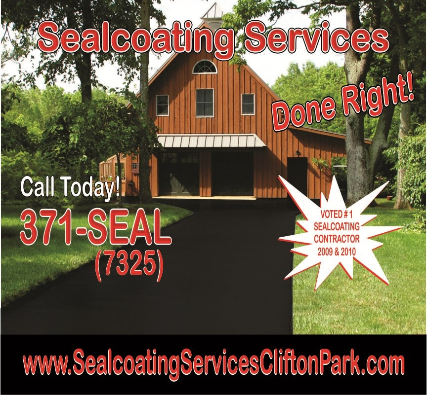 Sealcoating Services Of Clifton Park Reviews Rexford Ny