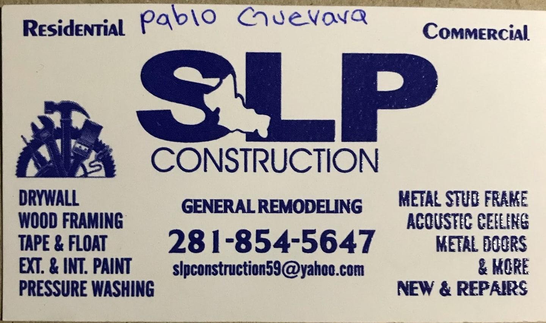 SLP Construction