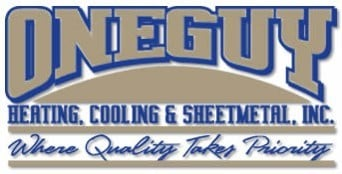 One Guy Heating, Cooling & Sheetmetal Inc. logo