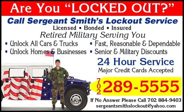 Sergeant Smith's Lockout & Roadside Svc Inc