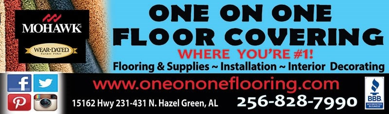 ONE ON ONE FLOOR COVERING LLC