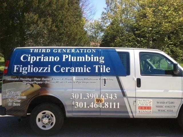 Third Generation Cipriano Plumbing Figliozzi Tile