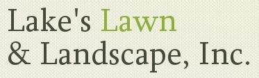 Lake's Lawn & Landscape logo