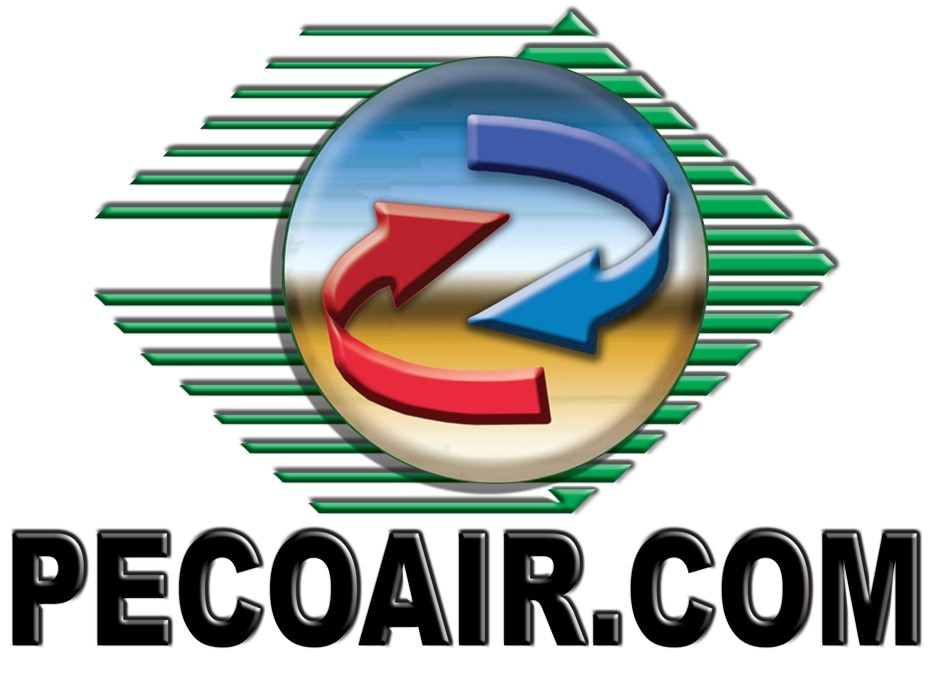 PECO HEATING and COOLING logo