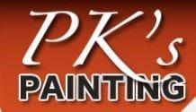 PK's Painting logo
