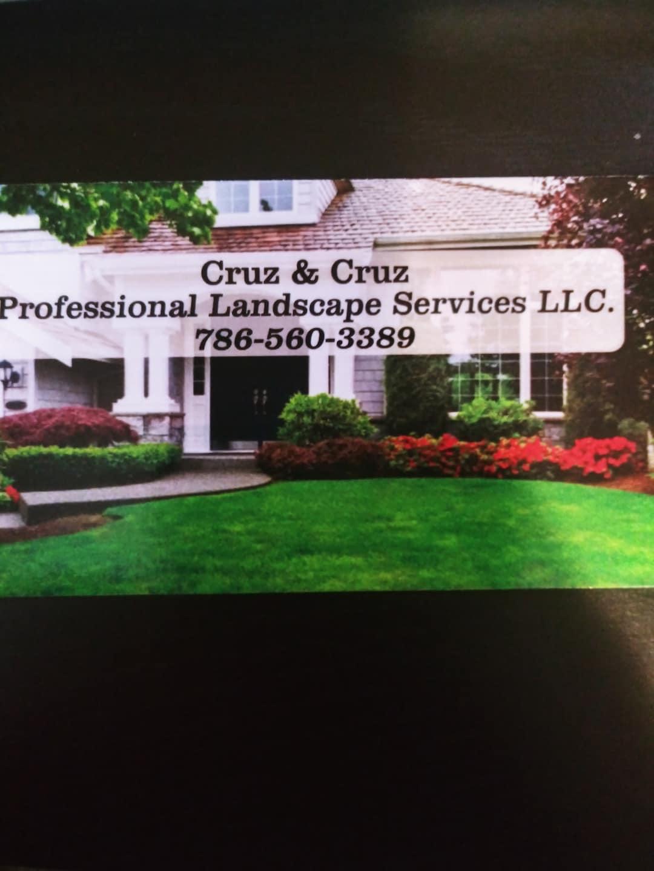 Cruz & Cruz Professional Landscape Services LLC.