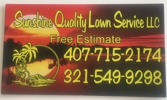 Sunshine Quality Lawn Service LLC