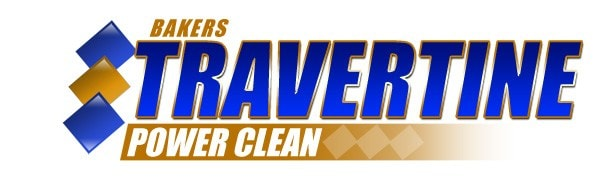 Baker's Travertine Power Clean logo