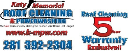 Katy Memorial Roof Cleaning & Power Washing