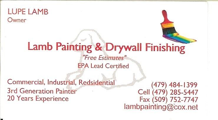 Lamb Painting And Drywall Finishing